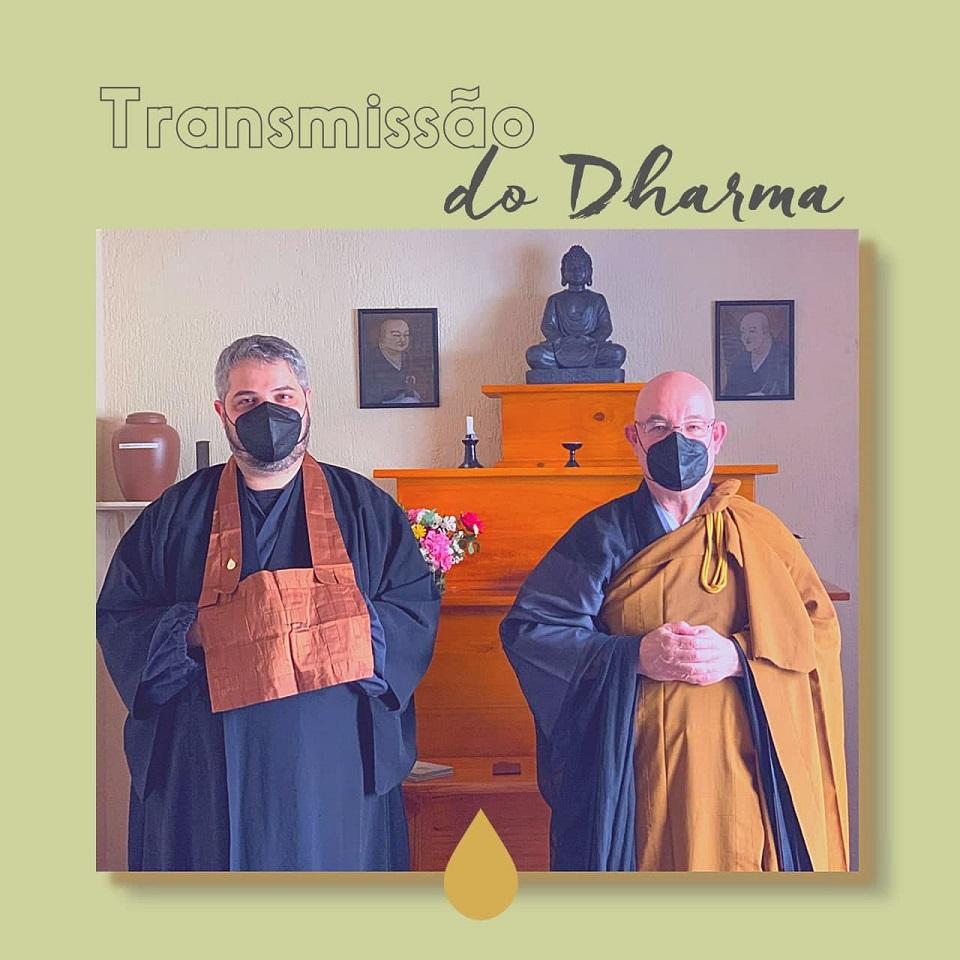 Cerimônia de Transmissão do Dharma - Comunidade Zen Budista Daissen Ji