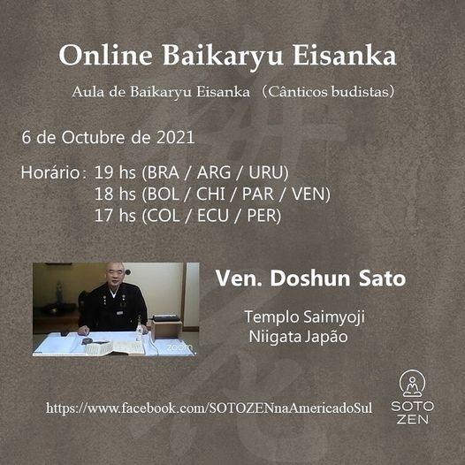 Curso online de Baikaryu Eisanka