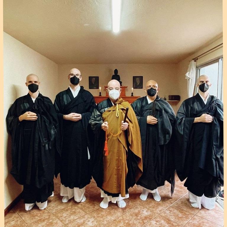 Ordenação Monástica - Comunidade Zen Budista Daissen Ji